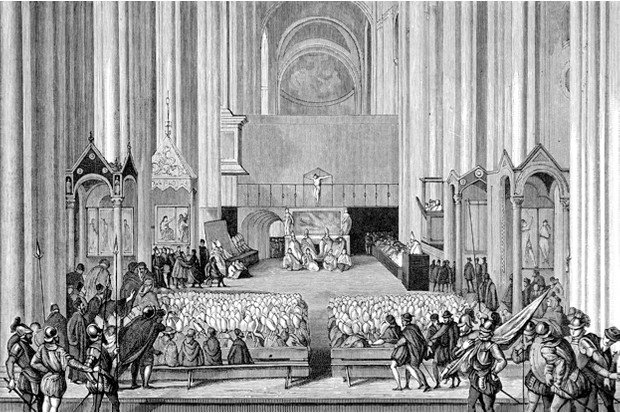 The Council of Trent, setting off the Counter-Reformation © iStock