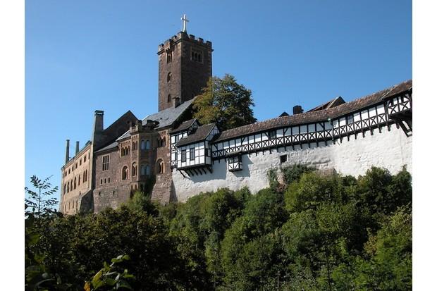 Wartburg Castle, where Luther sought sanctuary