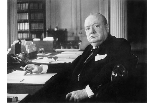 Winston Churchill as Prime Minister, 1940 (Public Domain)