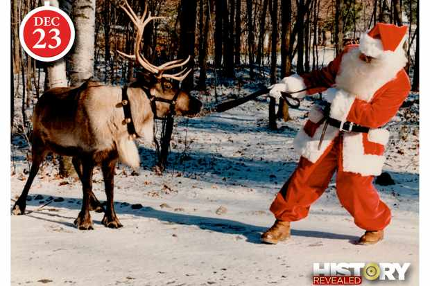 On Blitzen!... On!... On!