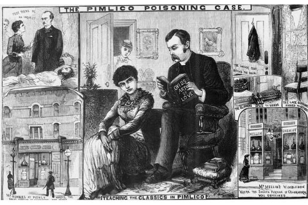 Adelaide Bartlett's Pimlico Poisoning © Wikimedia Commons