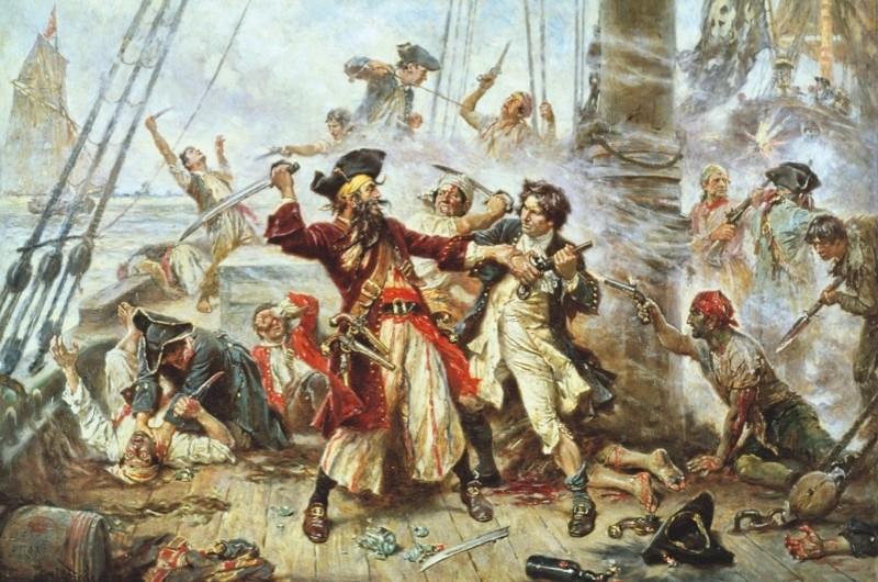 Blackbeard: dastardly sea-devil or kind pirate? © Superstock