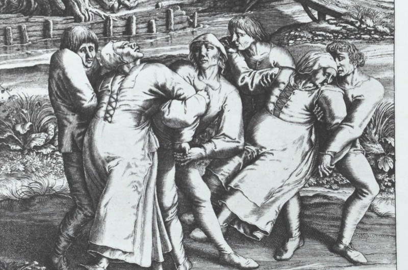 Why was there so much dancing in medieval times? © Wikimedia Commons