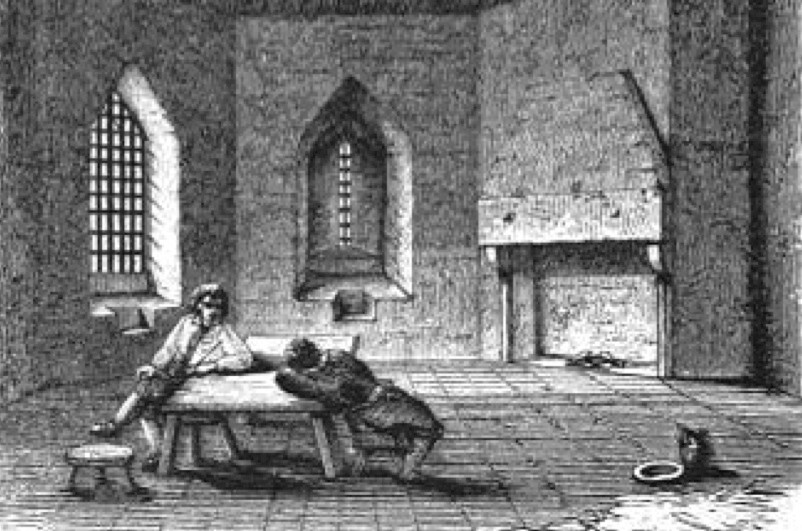 In a nutshell: Debtors' Prisons (public domain)
