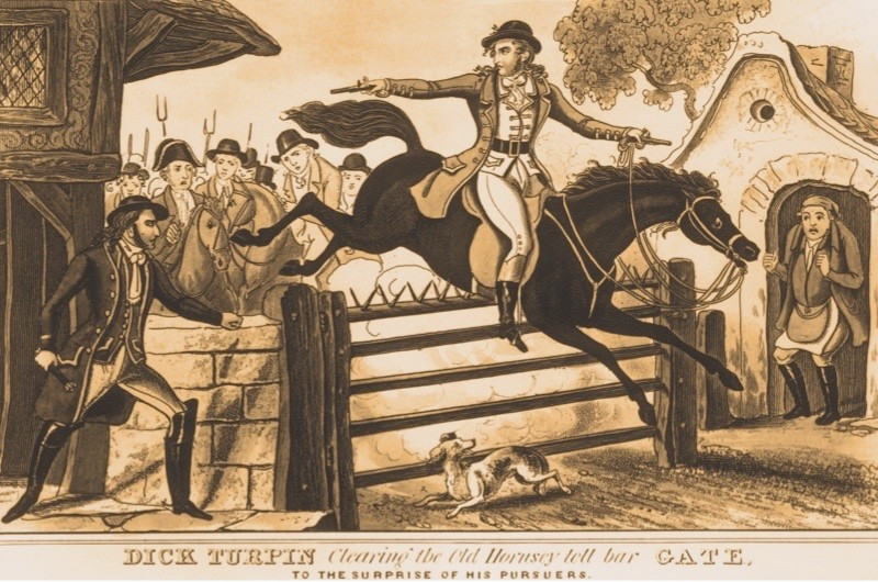 The extraordinary legend of highwayman Dick Turpin © Getty Images