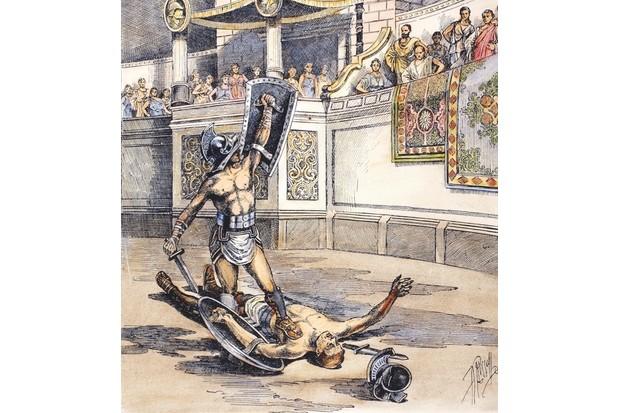 Roman gladiators. © TopFoto