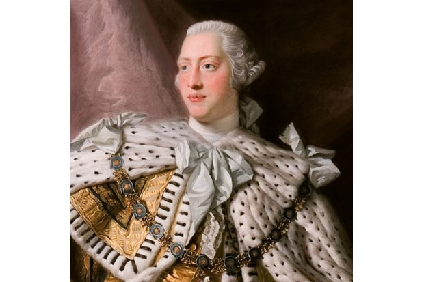 King George III was blighted with mental health problems in later life - and debates continue over what exactly he suffered from