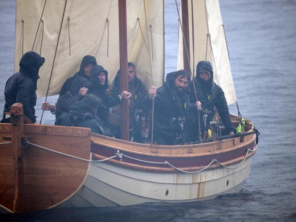 After the Mutiny: Captain Bligh's Return © Channel Four