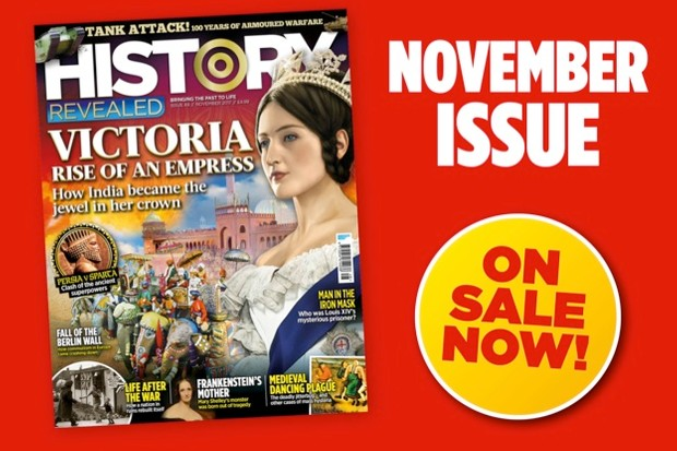 New issue on sale! November 2017