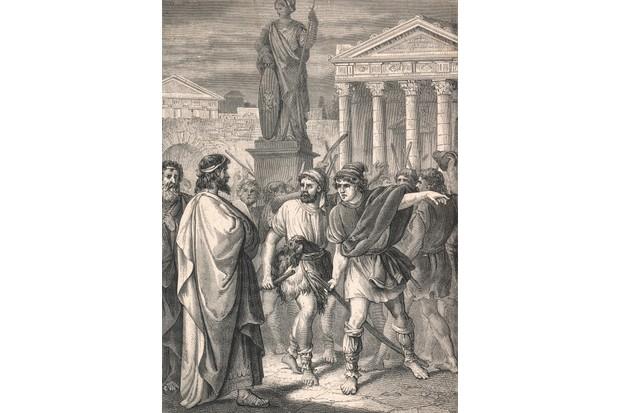 Spartacus' slave revolt © Mary Evans