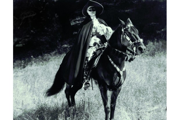 Most portrayals – such as this 1925 film starring Tom Mix – show Turpin as a hero. © Kobal
