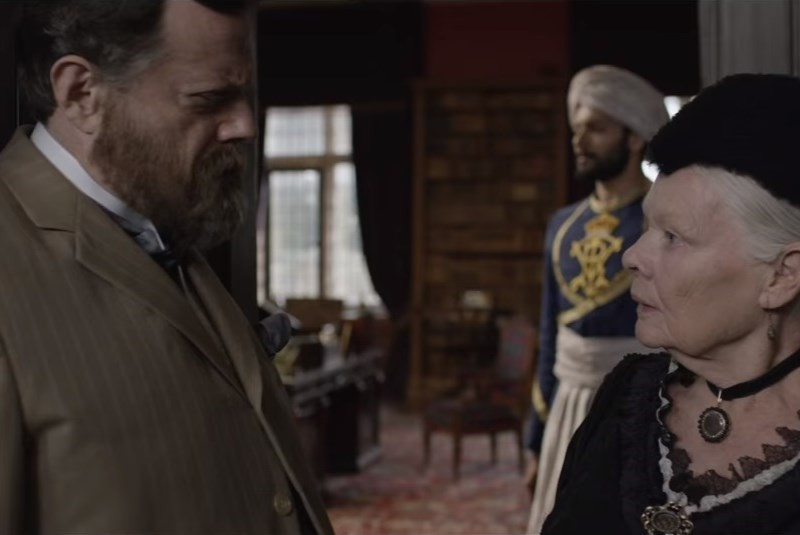 Victoria & Abdul: Interview with Eddie Izzard © BBC