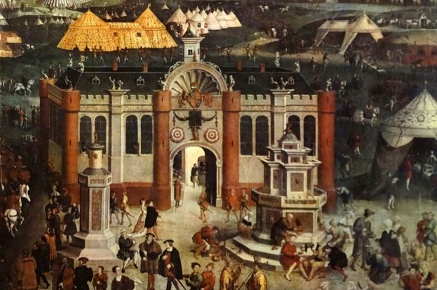 What kind of fountain did Henry VIII have? (public domain)