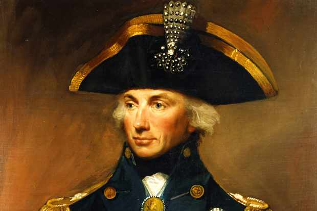 Rear Admiral Sir Horatio Nelson. © Getty