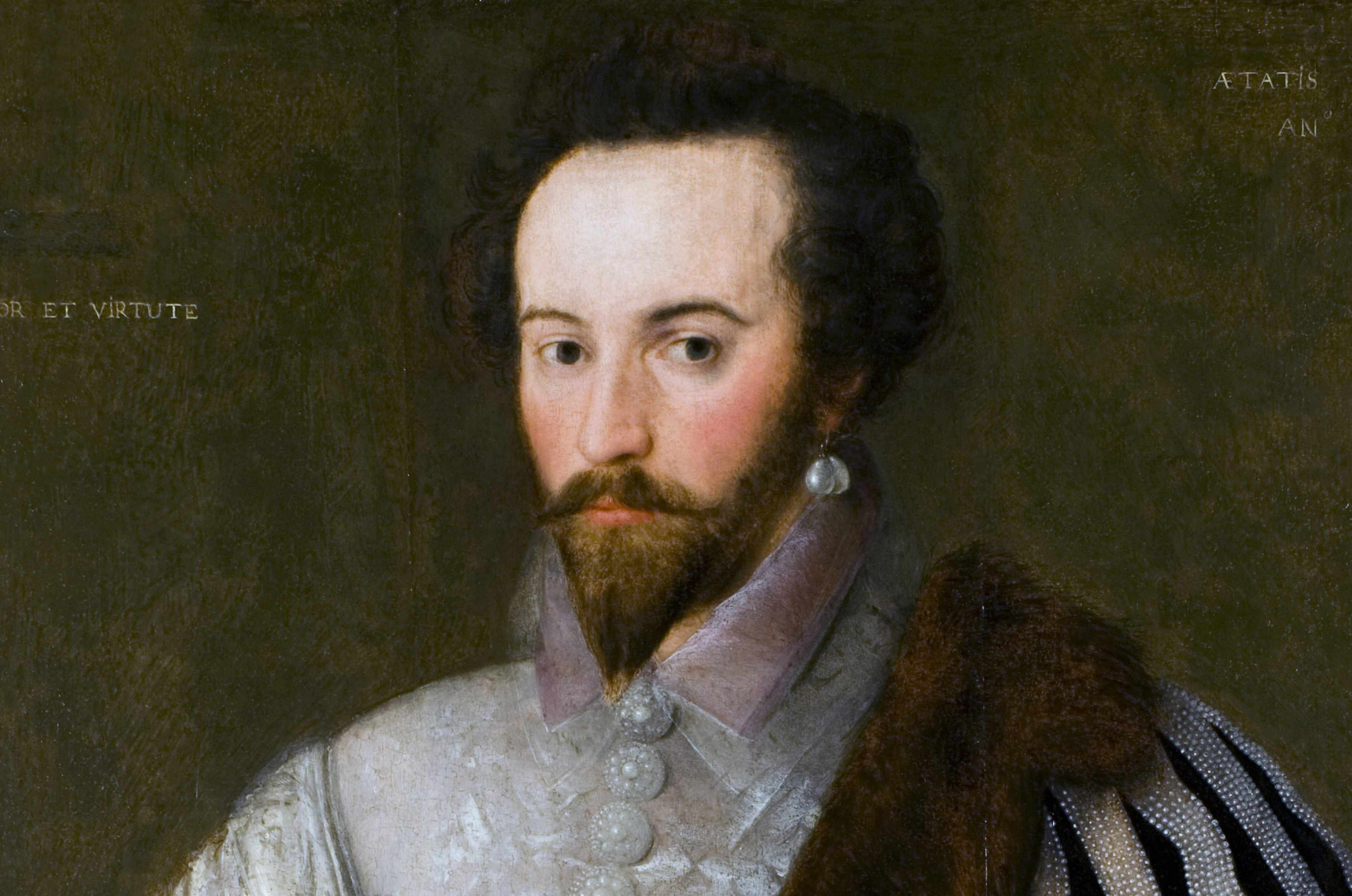 16th Century portrait of Sir Walter Raleigh. © Getty