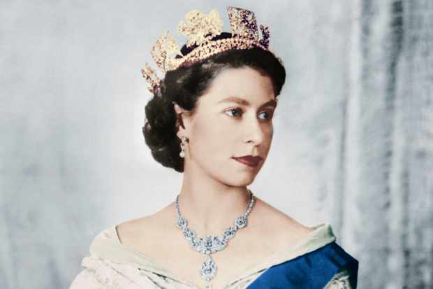 Queen Elizabeth II of England. © Getty