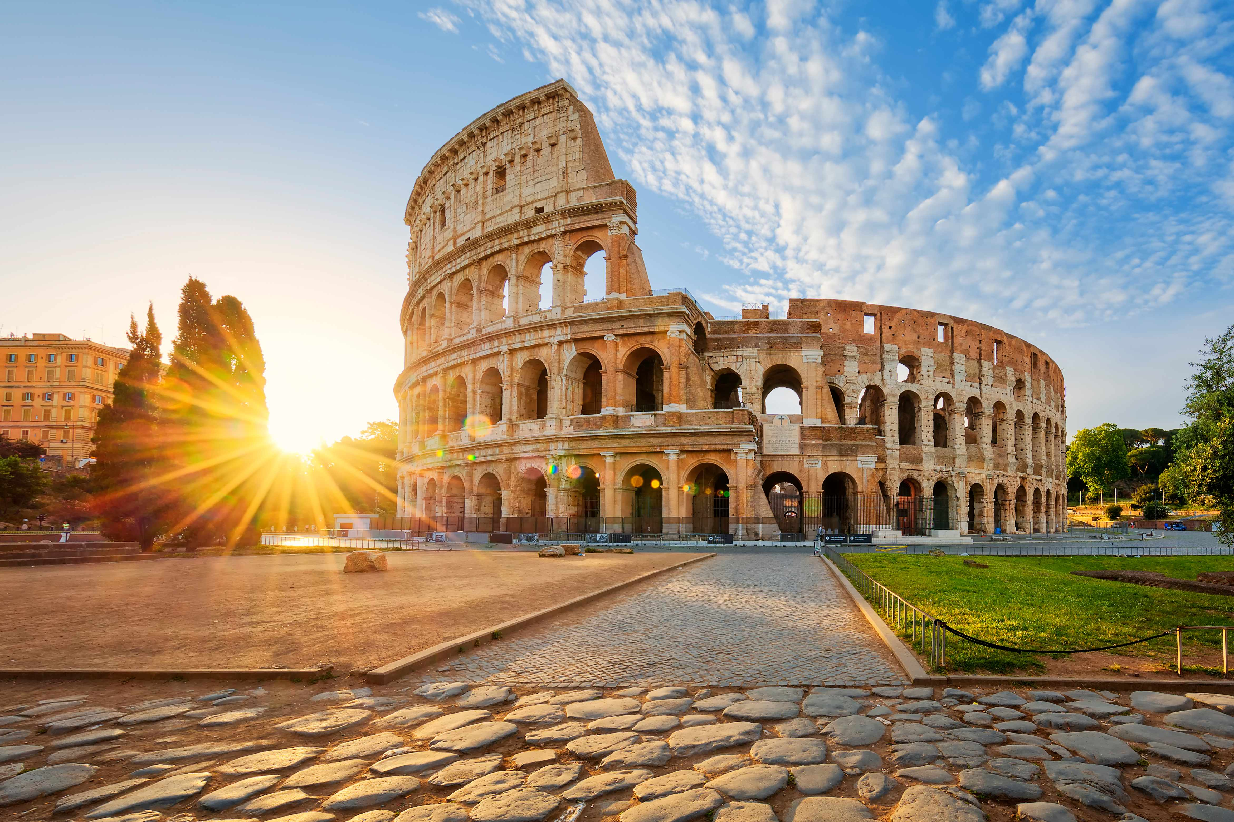 Colosseum in Rome, Italy. © Getty