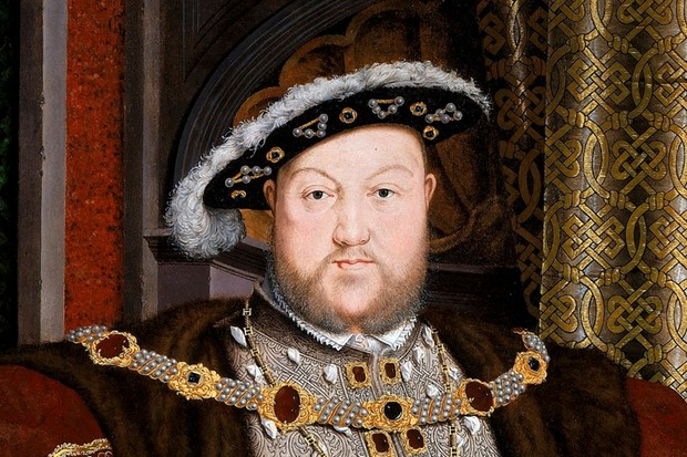 Portrait of King Henry VIII by Hans Holbein the Younger. © Getty