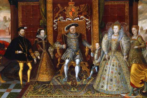 An Allegory of the Tudor Succession: The Family of Henry VIII, c. 1590. © Getty