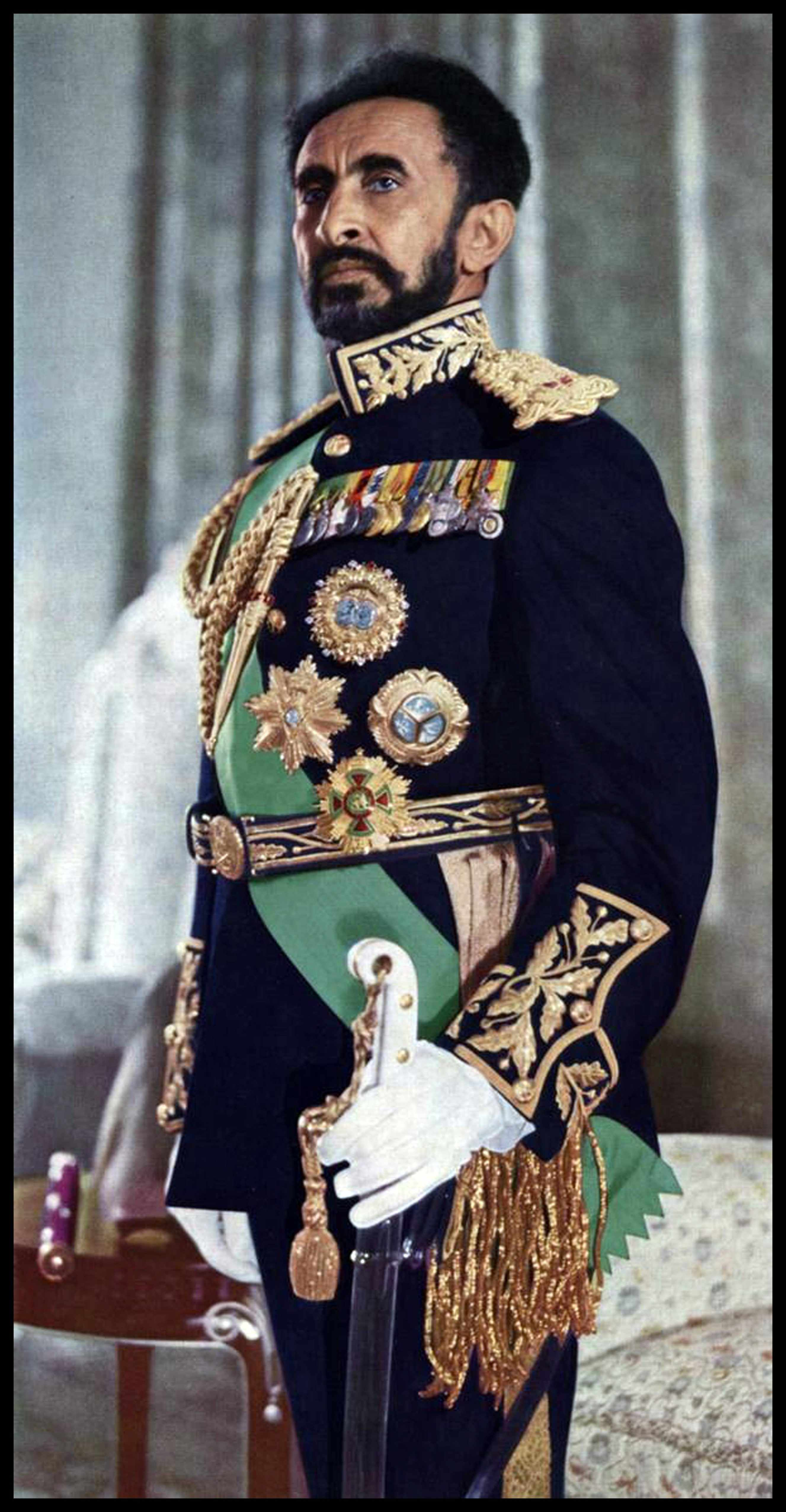 Haile Selassie in the 1970s © Getty Images