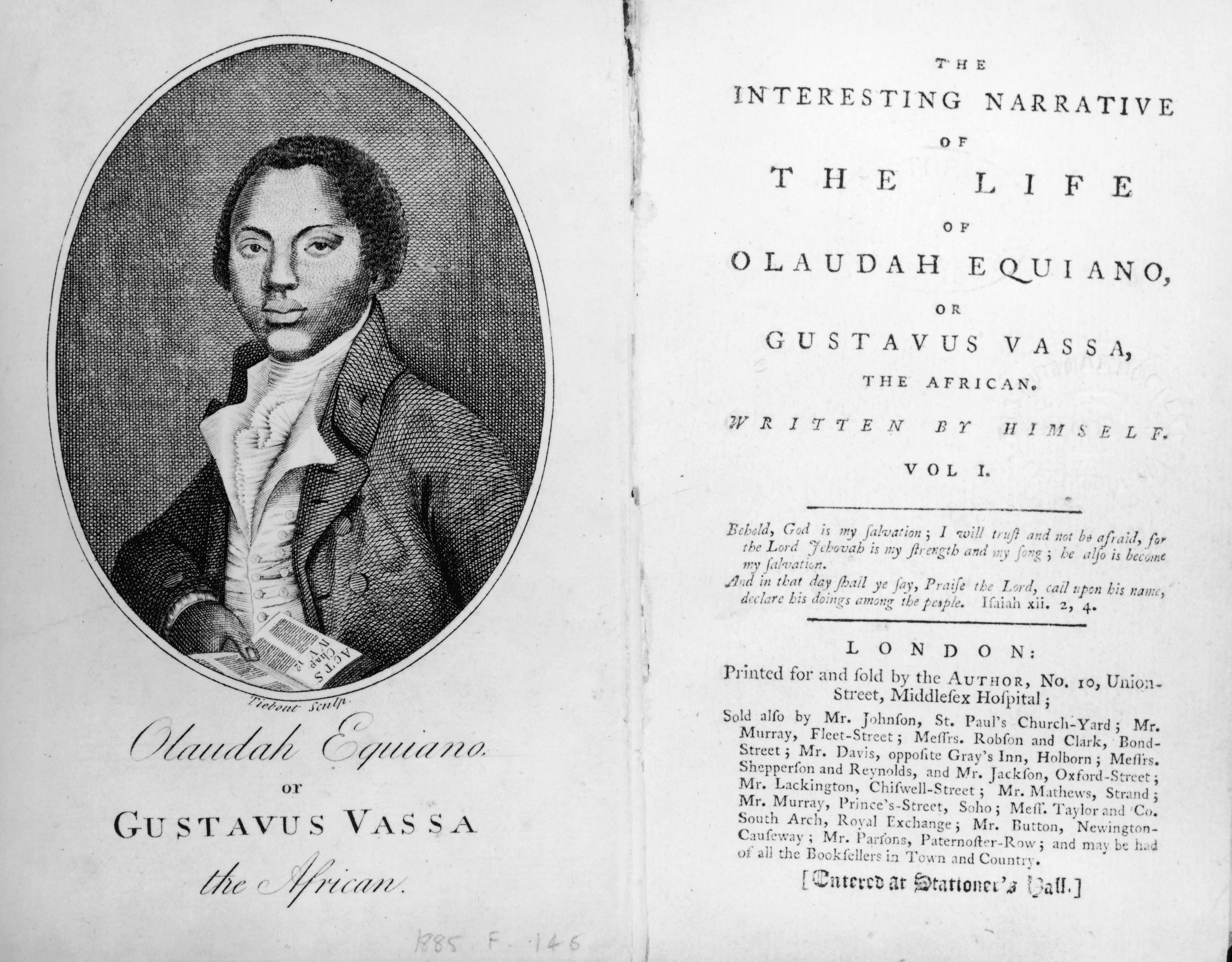 Portrait of Olaudah Equiano © Getty Images