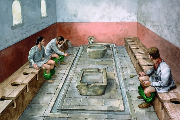 Roman Toilet © Getty Images