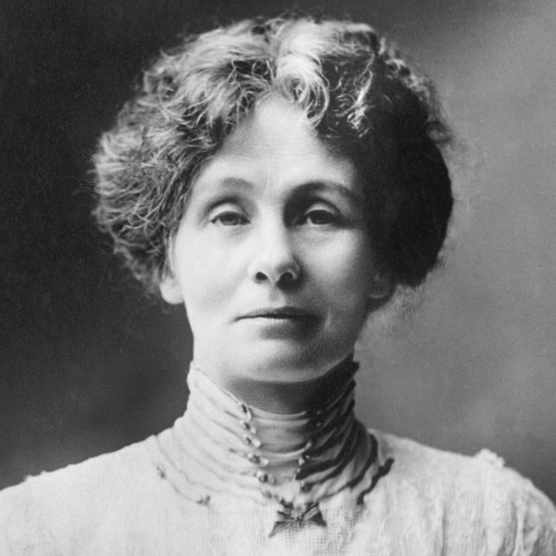Emmeline Pankhurst, founder of the Women's Social and Political Union – the Suffragettes © Getty