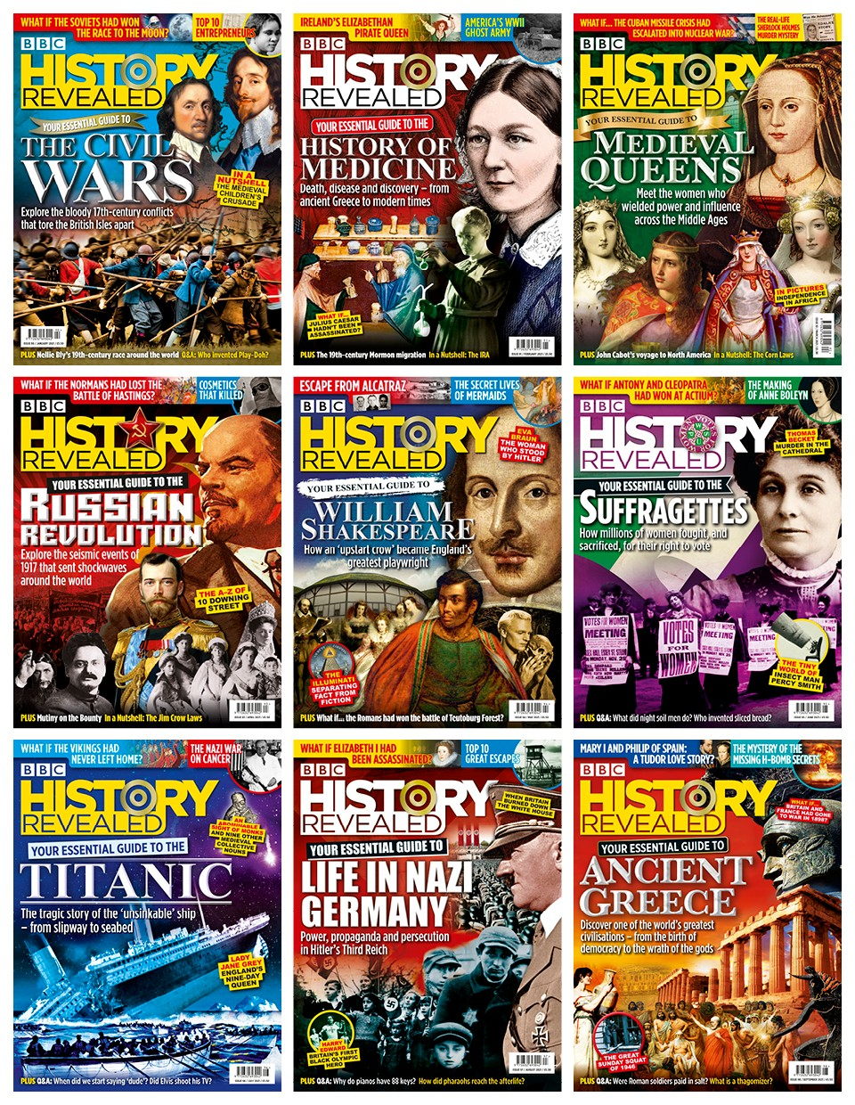 Mosaic of BBC History Revealed covers