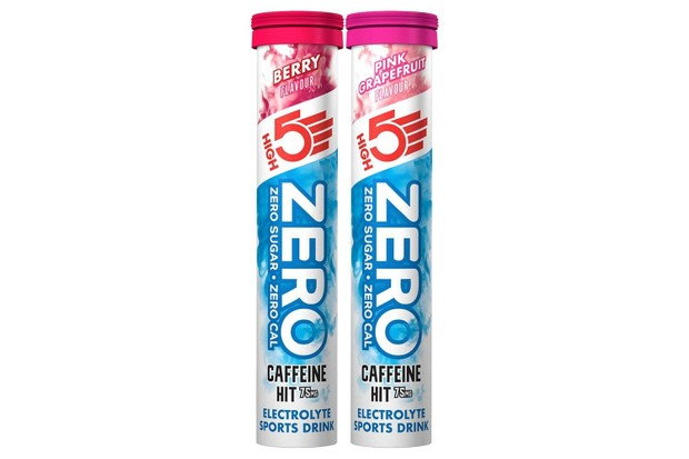 High5 zero caffeine hit electrolyte drinks