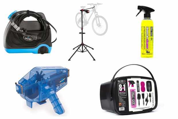 Cheap bike cleaning kit