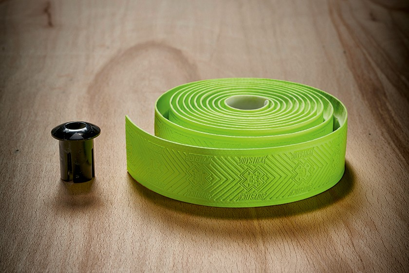 lime green bar tape from joystick