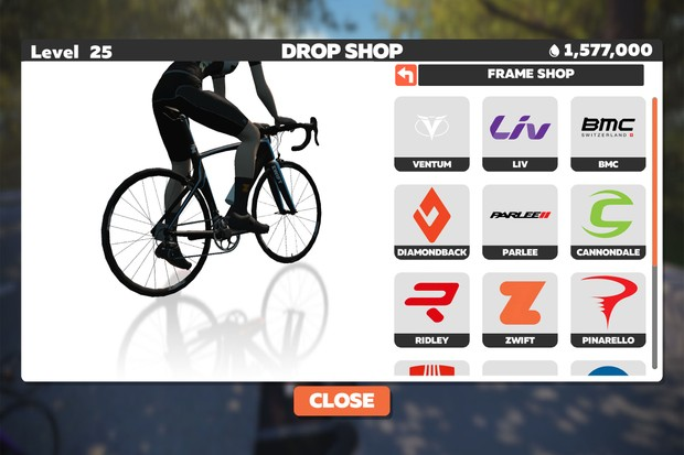 Zwift Drop Shop