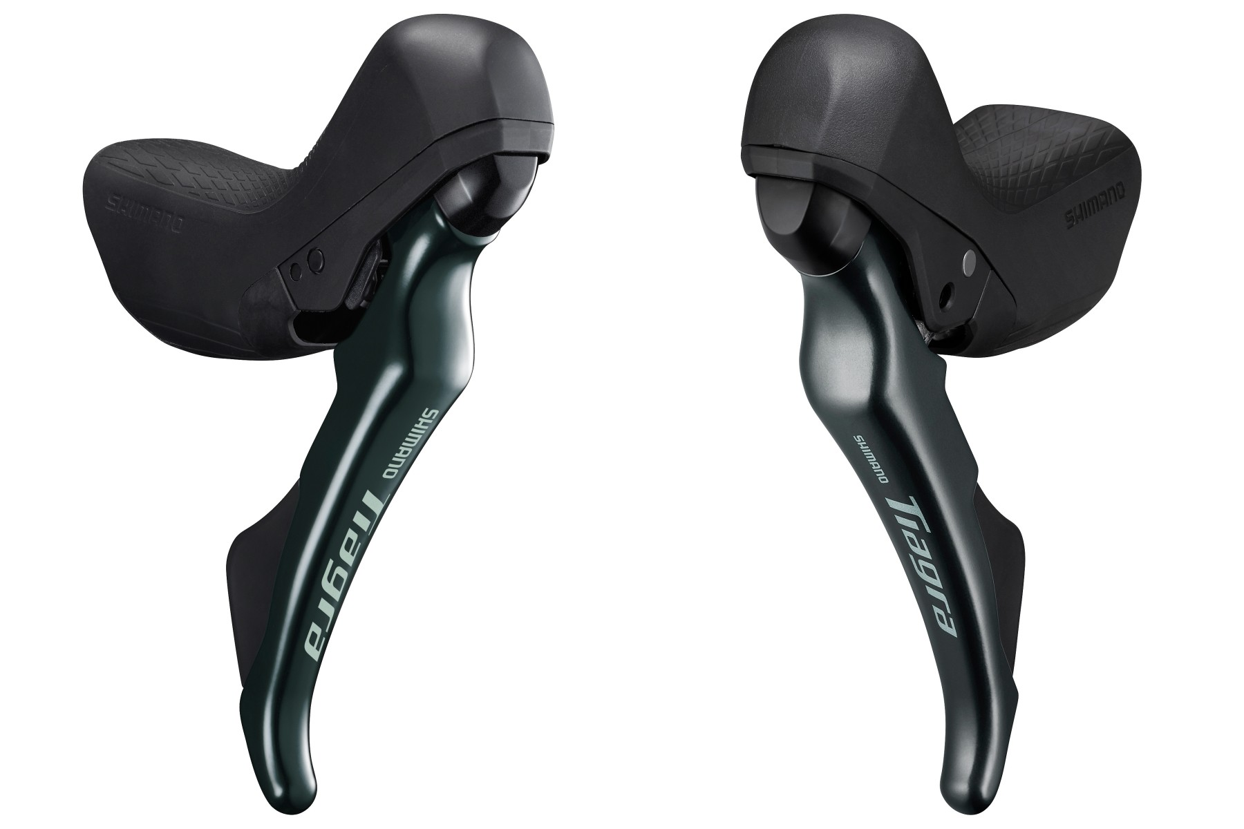 Left and right Shimano road levers