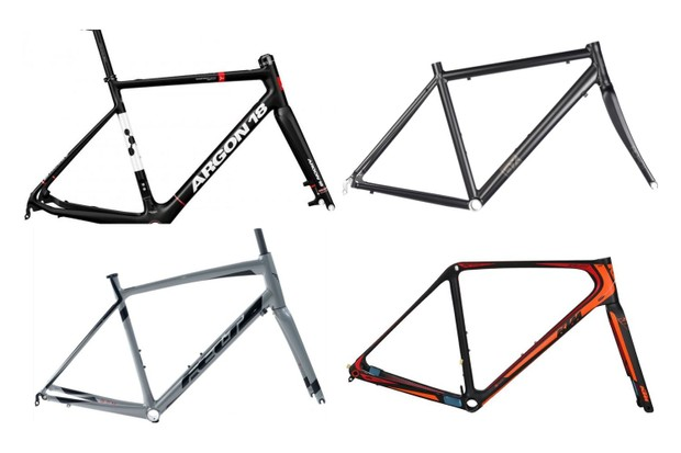 Cheap bike frames collage
