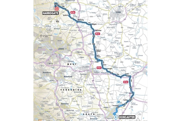 UCI Road World Championships Women Juniors Road Race, Doncaster–Harrogate