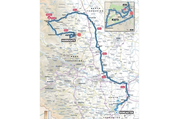 UCI Road World Championships Men U23 Road Race, Doncaster–Harrogate