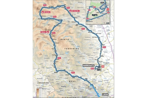 UCI Road World Championships Men Elite Road Race, Leeds–Harrogate