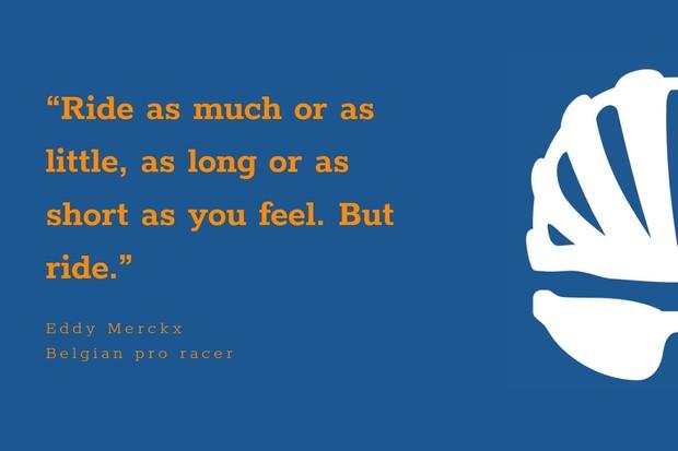 Eddy Merckx inspirational cycling quote