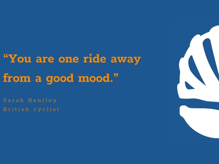 50 inspirational cycling quotes