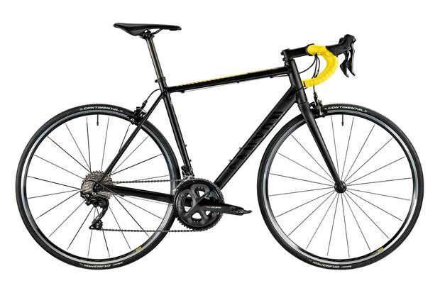 Canyon road bike