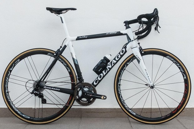 The C64 is the new top-end race bike from Colnago