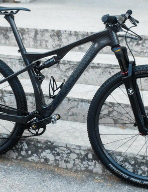 The Ares LTD is RDR's top-end XC bike