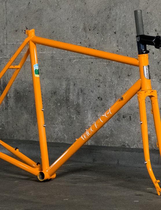 The Velo Orange Pass Hunter disc is a versatile steel frameset