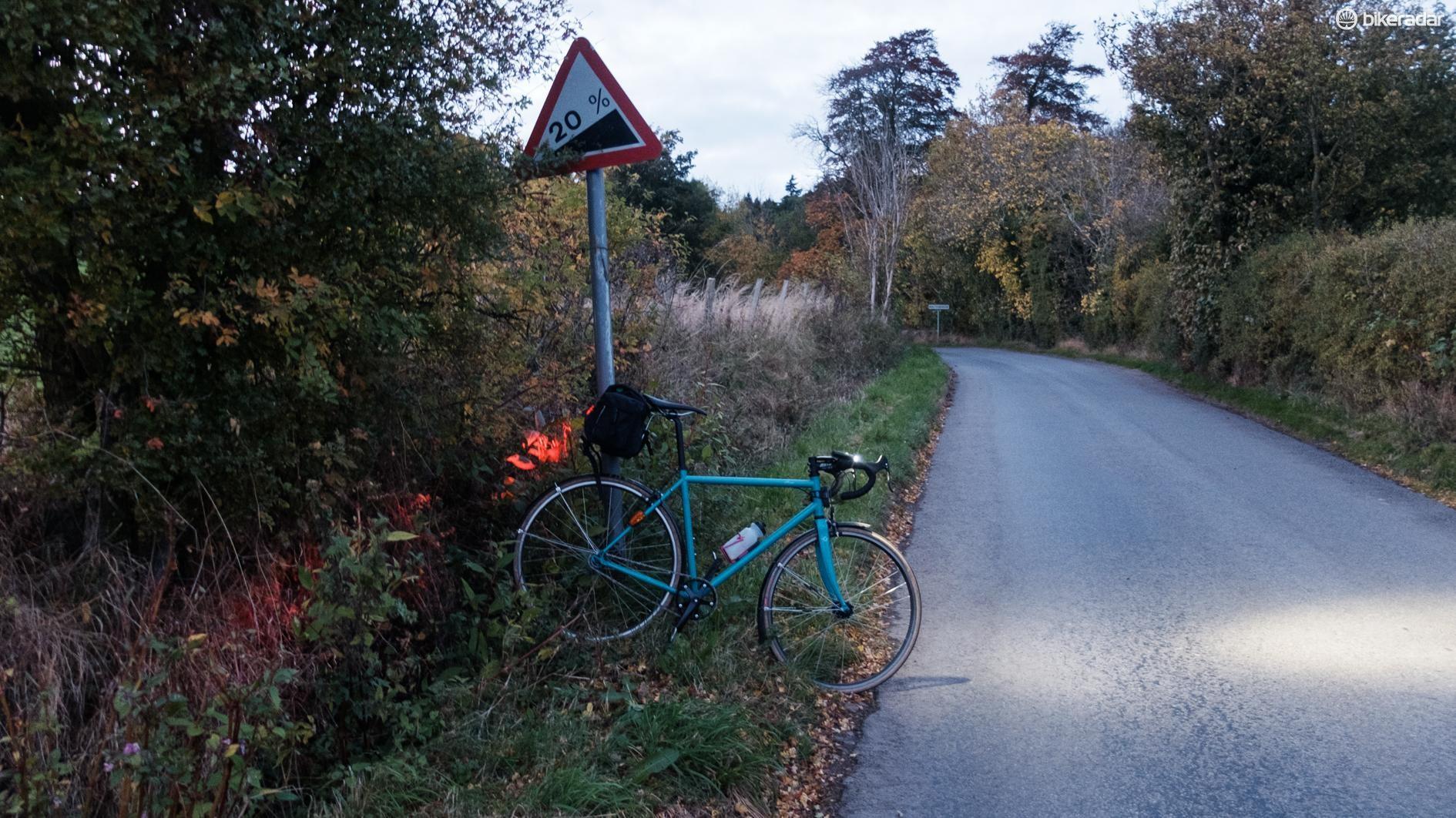 Remind me why I chose to test a fixed gear bike?