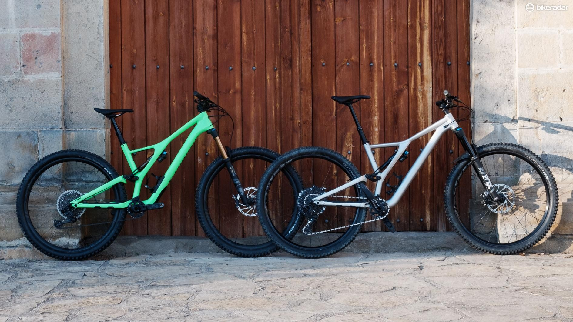 The two bikes ride very differently, and that's no bad thing