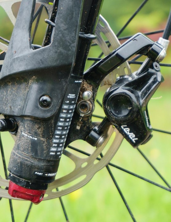 The new quick-release brake mount