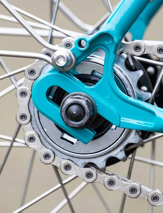 Singlespeed chains are typically wider than those for derailleur-equipped bikes.