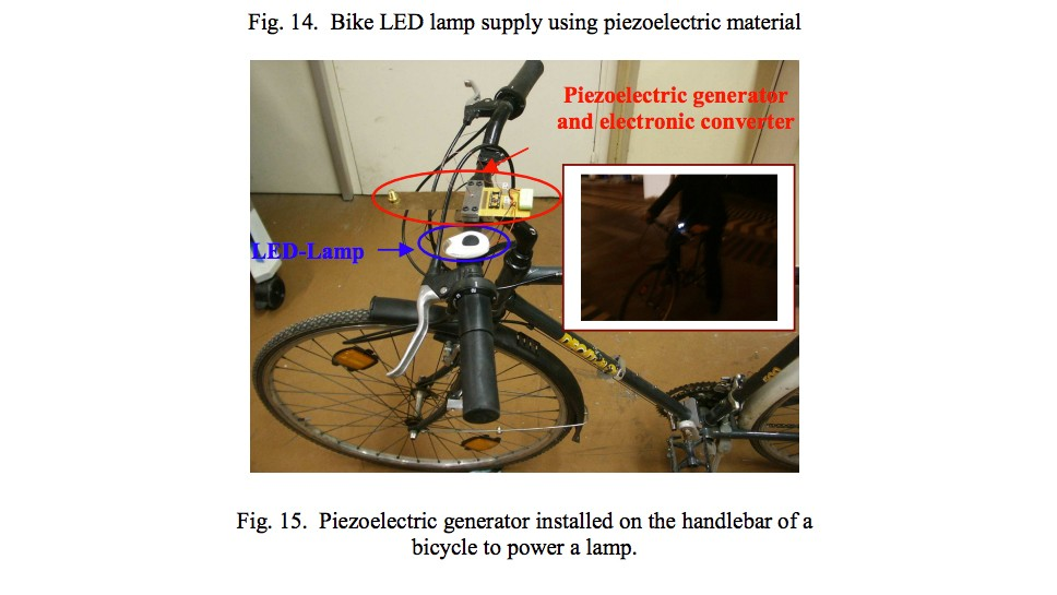The prototype generator was able to power a small LED lamp