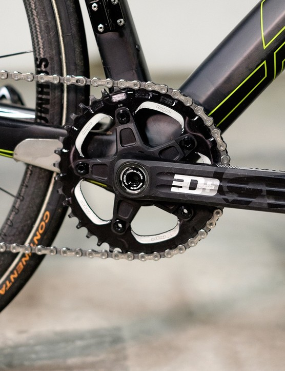 I used a 40t Hope chainring