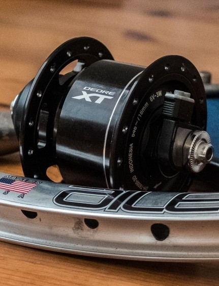 Dynamo hubs can already be used to charge a Di2 drivetrain, but they're overkill